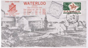 First Day Cover of First Overland Post